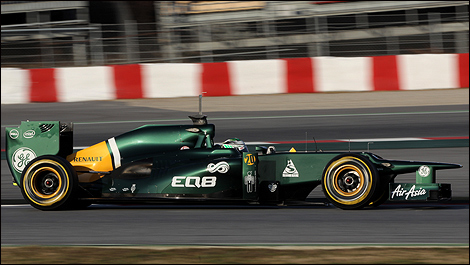 F1 Caterham CT01