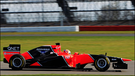 F1 Marussia MR01