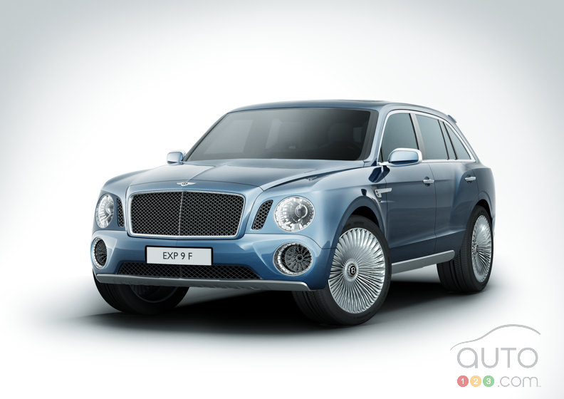 Bentley enters SUV arena with the EXP 9 F Concept