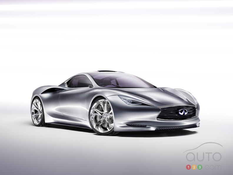 Infiniti EMERG-E concept electrifies the sports car