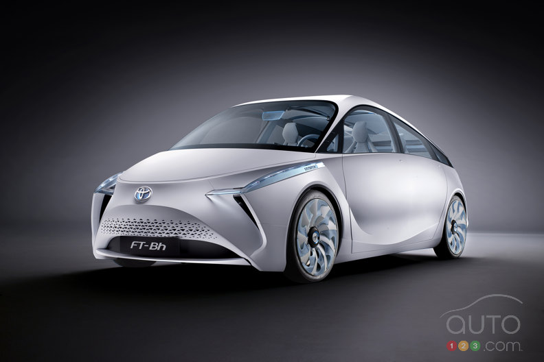 Toyota FT-Bh looks keen at Geneva show