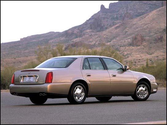 RANK CADILLAC CAR PICTURES: 2001 Cadillac DeVille DTS Images