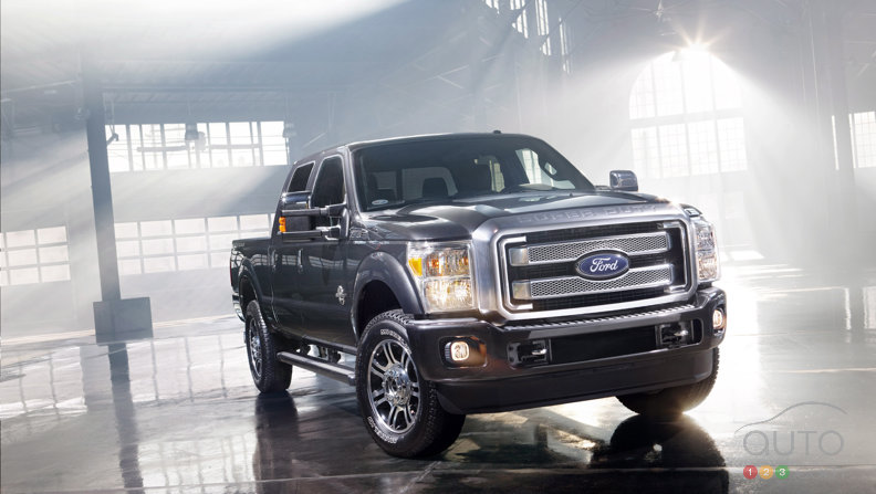 2013 Ford F-Series Super Duty SYNCs up with Platinum edition