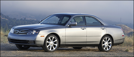 2003 Infiniti M45 i001 Recalls of the week by Transport Canada