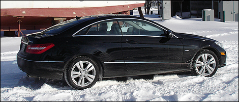 2012 Mercedes-Benz E 350 Coupe 4MATIC right side view