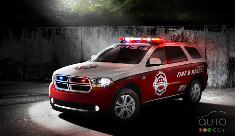Dodge Durango Special Service reports for duty