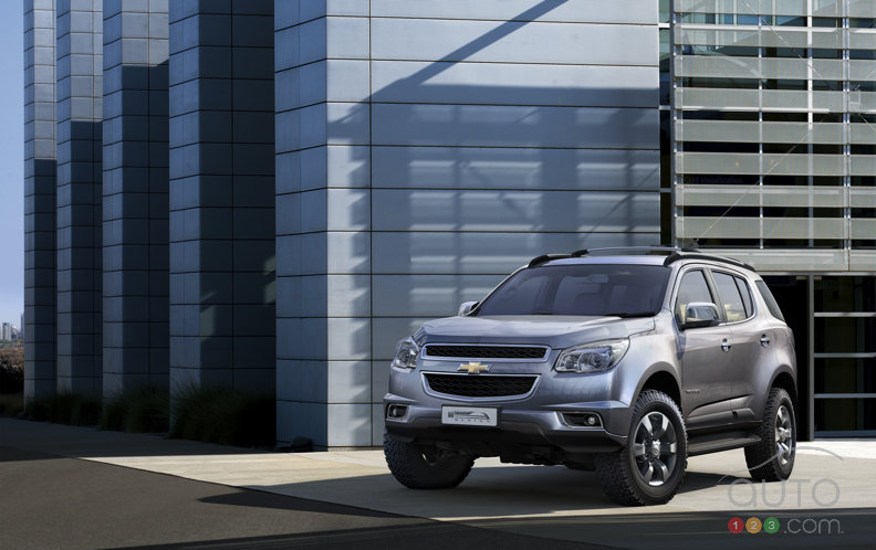 New Chevy Trailblazer makes debut in Thailand