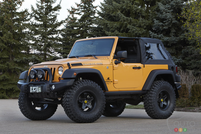 Jeep and Mopar unveil six Moab specials