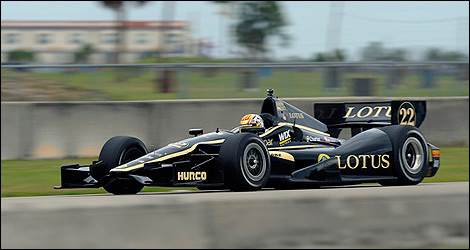 IndyCar Dallara DW12 Lotus