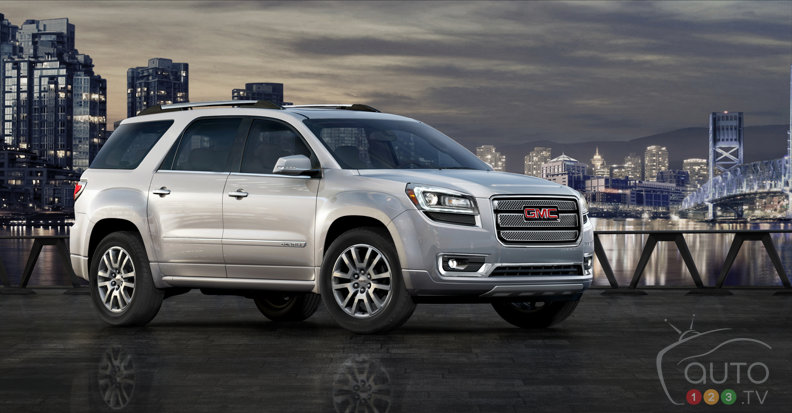 New design highlights 2013 GMC Acadia