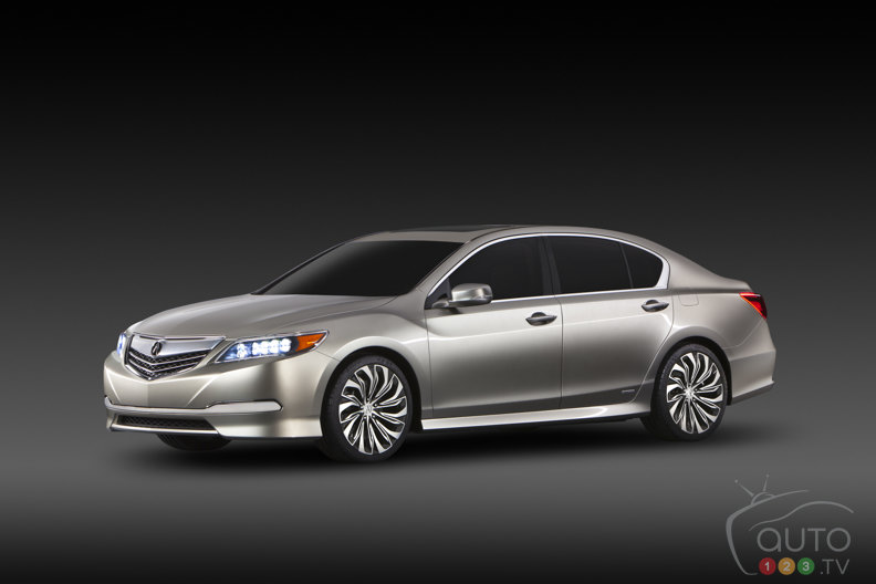 Acura RLX Concept makes world debut in New York