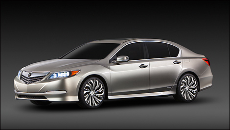Precision Acura on Acura Rlx Concept Makes World Debut In New York   Car News   Auto123