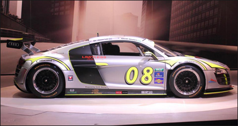 Limitless Racing's Audi R8 Grand-Am (Photo: Limitless Racing)