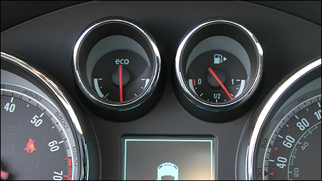 Buick Regal's 'ECO' meter gauge