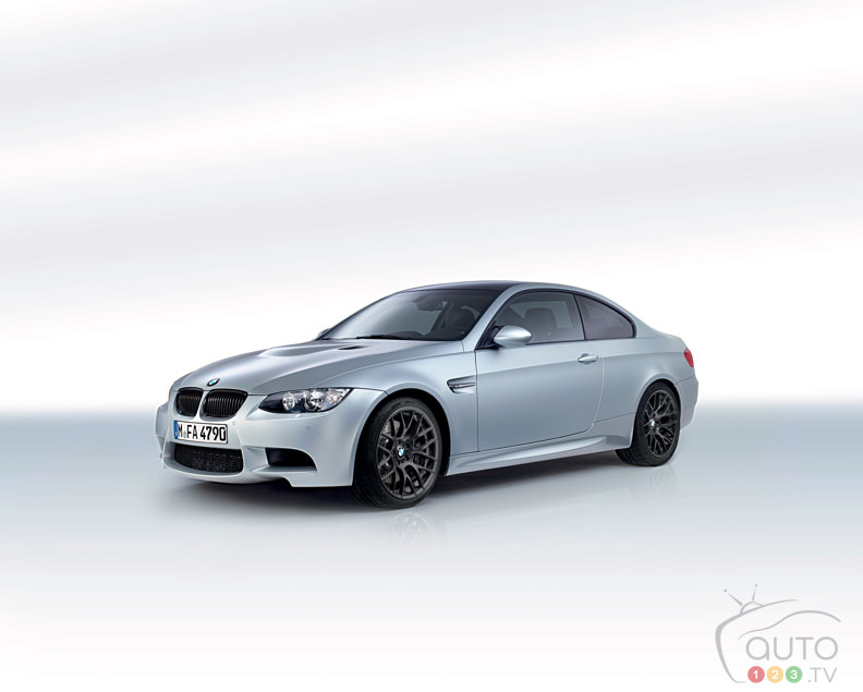 BMW Celebrates 40 years with M3 Coup� Frozen Silver