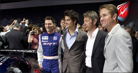 Wittmer, Farnbacher, Goossens and Hunter-Reay (Photo: ALMS)
