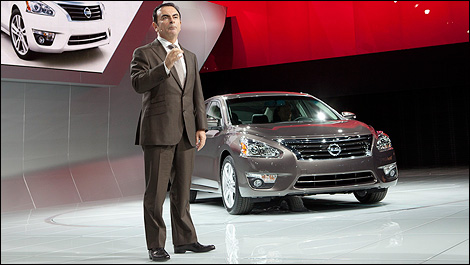 Nissan and Renault president, Carlos Ghosn