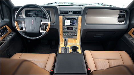 2012 Lincoln Navigator dashboard