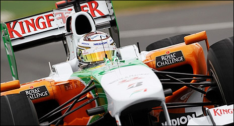 Force India F1 Adrian Sutil