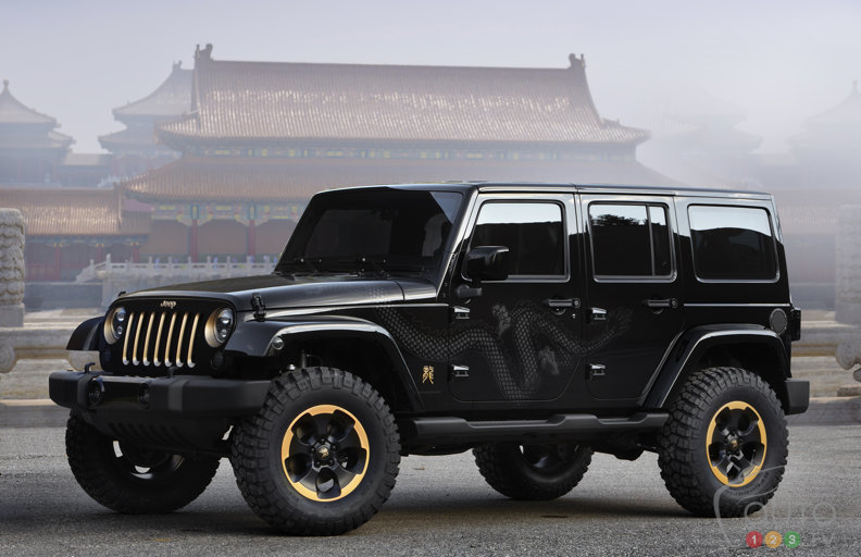 Jeep Wrangler Dragon debuts in Beijing