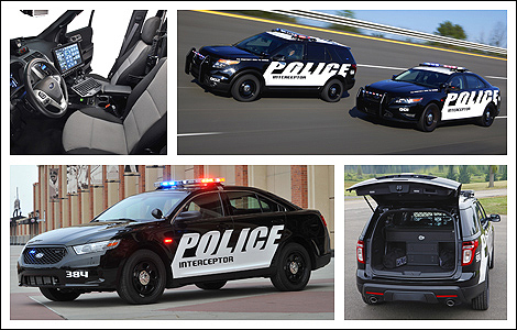 2013 Ford Police Interceptor Sedan and Utility