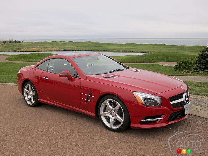 2013 Mercedes-Benz SL 550 First Impressions