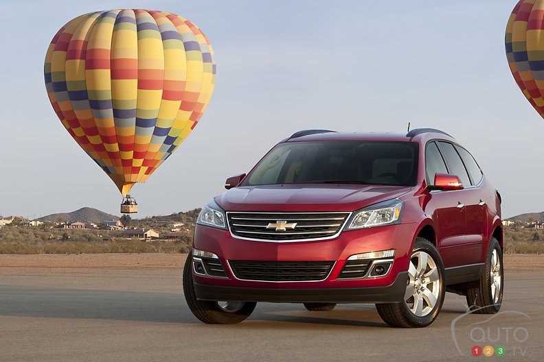 Chevrolet Traverse 2013 : aper�u
