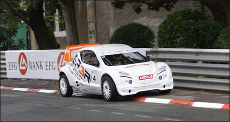 The all-electric Andros Car Evo 2 (Photo: Grand Prix de Pau)