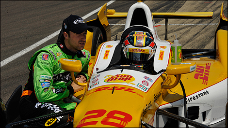 Indy 500 James Hinchcliffe Ryan Hunter-Reay