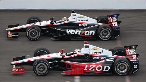 Indy 500 Will Power Ryan Briscoe