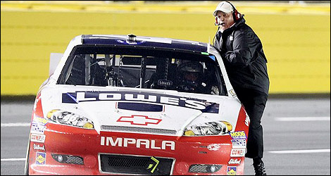 NASCAR Rick Hendrick Jimmie Johnson