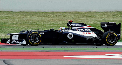 Pastor Maldonado Williams FW34 F1