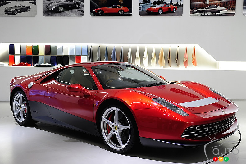 One-off Ferrari SP12 EC named after Eric Clapton