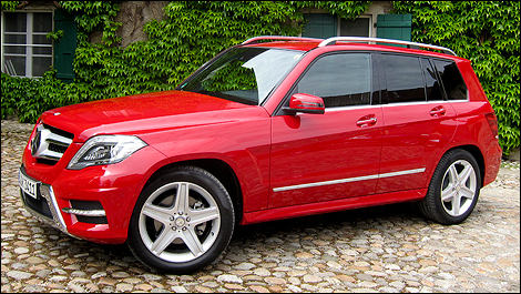 2013 Mercedes-Benz Classe GLK 250 BlueTEC left side view