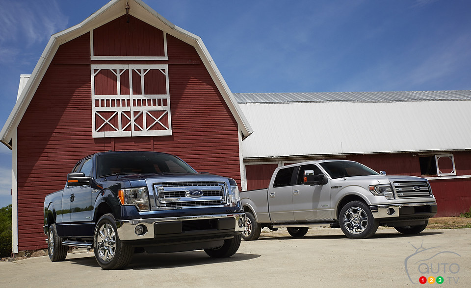 Ford unveils its new 2013 F-150