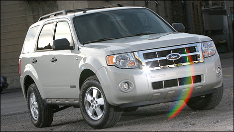 2008 Ford Escape front 3/4 view
