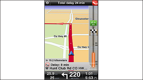 TomTom Navigation (v1.10) for iPhone