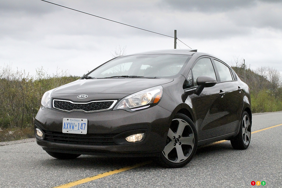2012 Kia Rio SX Sedan Review
