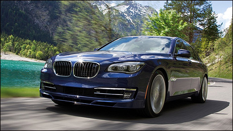 2013 BMW ALPINA B7 i001 2013 BMW ALPINA B7: luxury meets power