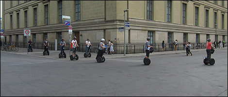 Tourism on Segway