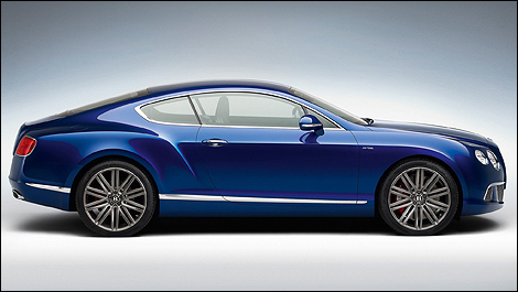 Bentley Continental GT Speed side view