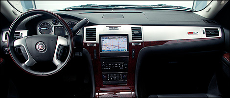 2012 SLP Cadillac Escalade Supercharged Sport Edition dashboard