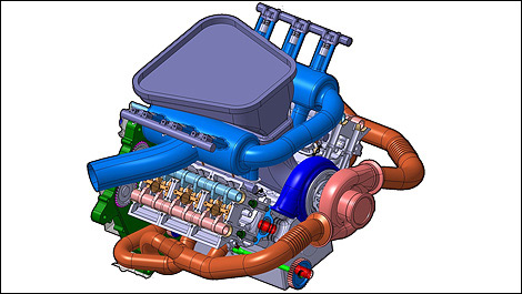 F1 PURE engine
