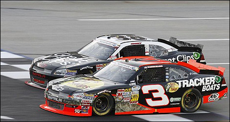 Auto Racing Nascar Radio Stations Kentucky on Nascar Penalizes Austin Dillon And Team For Technical Violation