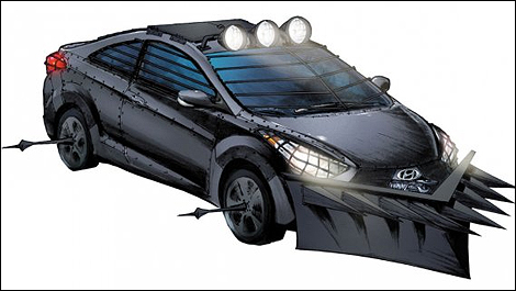 Zombie survival machine i01 When Hyundai meets The Walking Dead