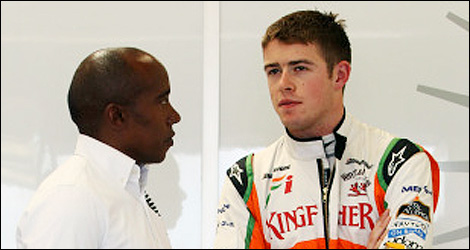 F1 Anthony Hamilton Paul di Resta