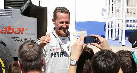 F1 Michael Schumacher Mercedes