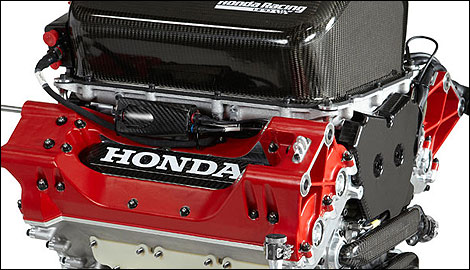 IndyCar Honda engine