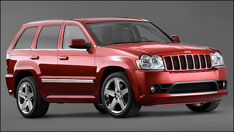 Jeep Grand Cherokee SRT8 2006 vue 3/4 avant