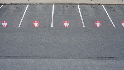 men parking i1 Men only parking spaces in Germany
